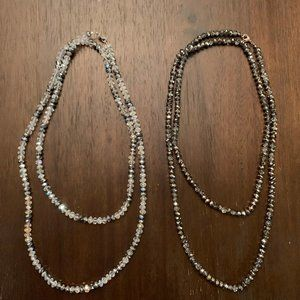 White House Black Market long beaded necklace